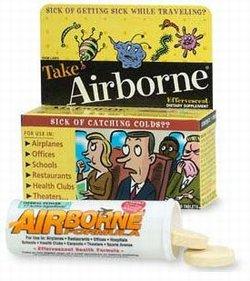 Airborne is fraudulent