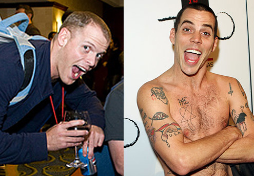 Separated at birth: Timothy Ferris and Steve-O