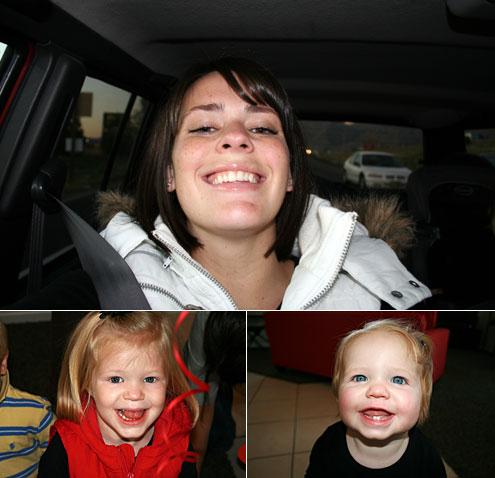 Lindsey Snow, Sadie Snow, Maddie Snow 2008