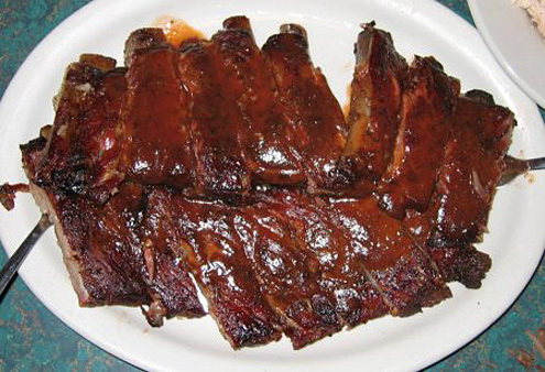 rack of ribs - The worst foods to eat while playing video games