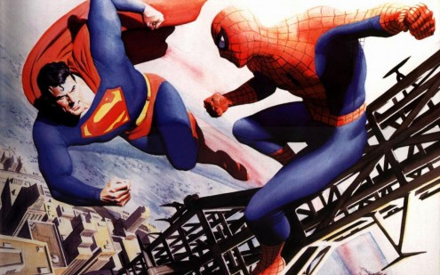 superman-vs-spiderman