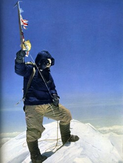 Have fist man to climb mount everest