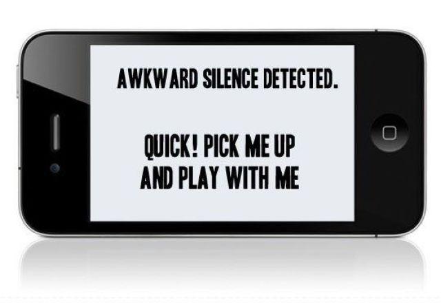 phone in public