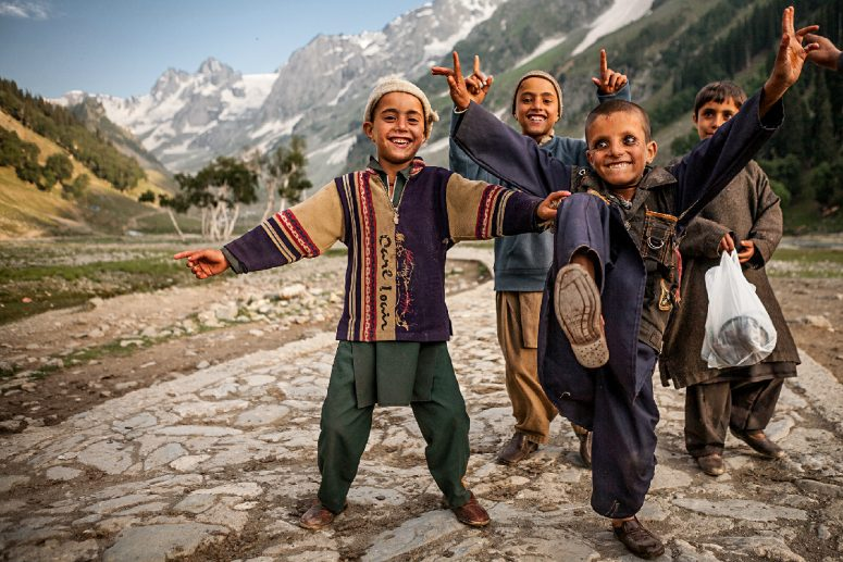 """Gujja kids from Kashmir, India"" Credit: Sandeepa Chetan/Creative Commons"