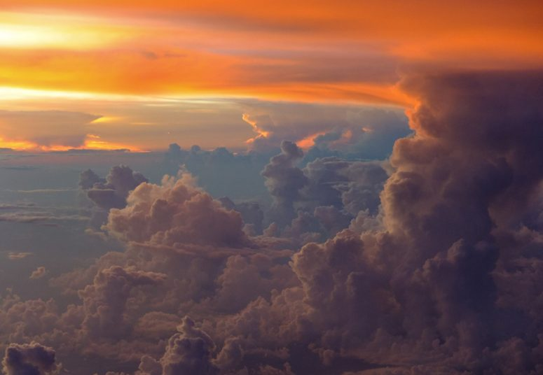 Towering cumulus clouds over central Brazil coutesty of Ron Engels